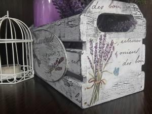 Ящик деревянный для мелочей